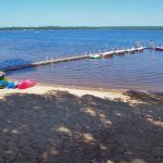 Sand Beach, Canoes, Kayaks and Dock