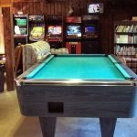 Pool Table, Video Games and Library