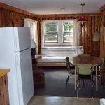 Cabin 4 Dining and Living Room