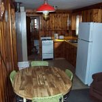 Cabin 4 Dining Room and Kitchen