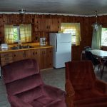 Cabin 6 Kitchen and Dining Room