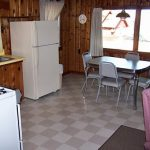 Cabin 2 Kitchen and Dining Room