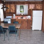 Cabin 1 Kitchen and Dining Room